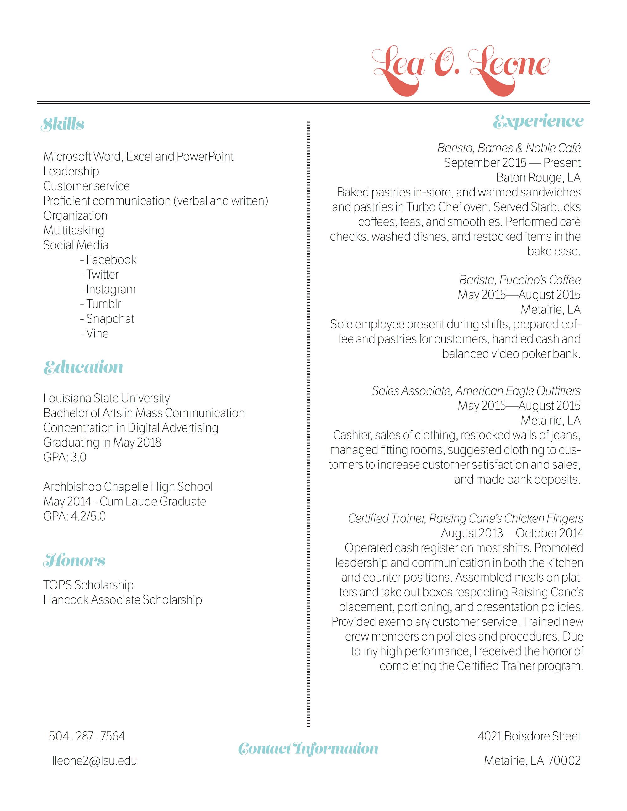 Resume---Lea-Leone